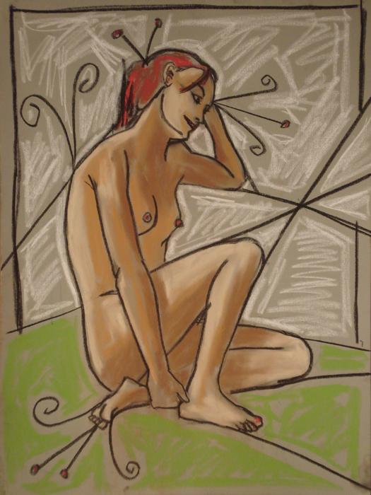 untitled drawing of tasha 001