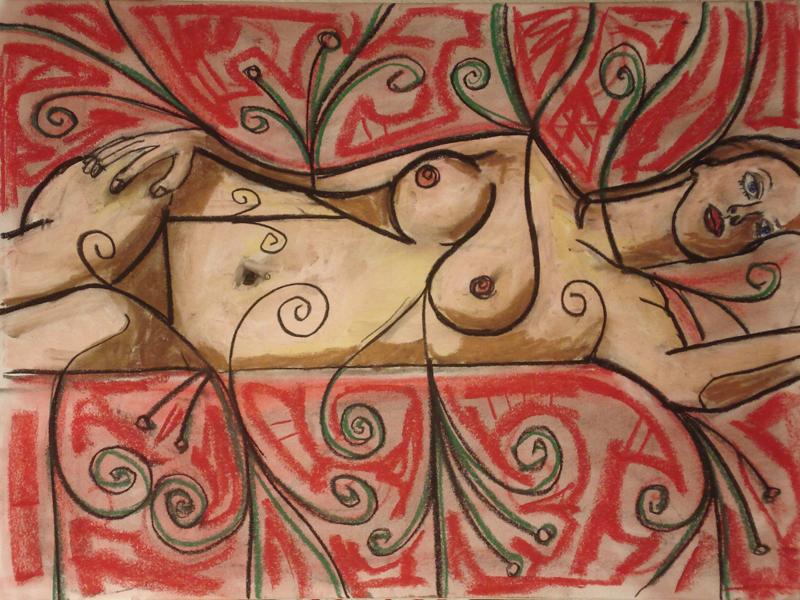 untitled drawing of kara 002