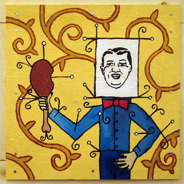 blockhead #04 (chicken)