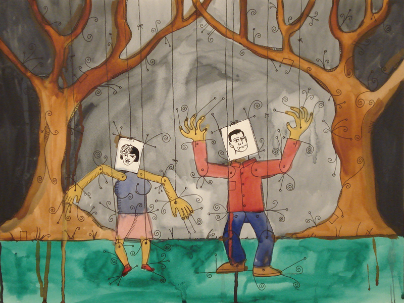 blockheads in the woods
