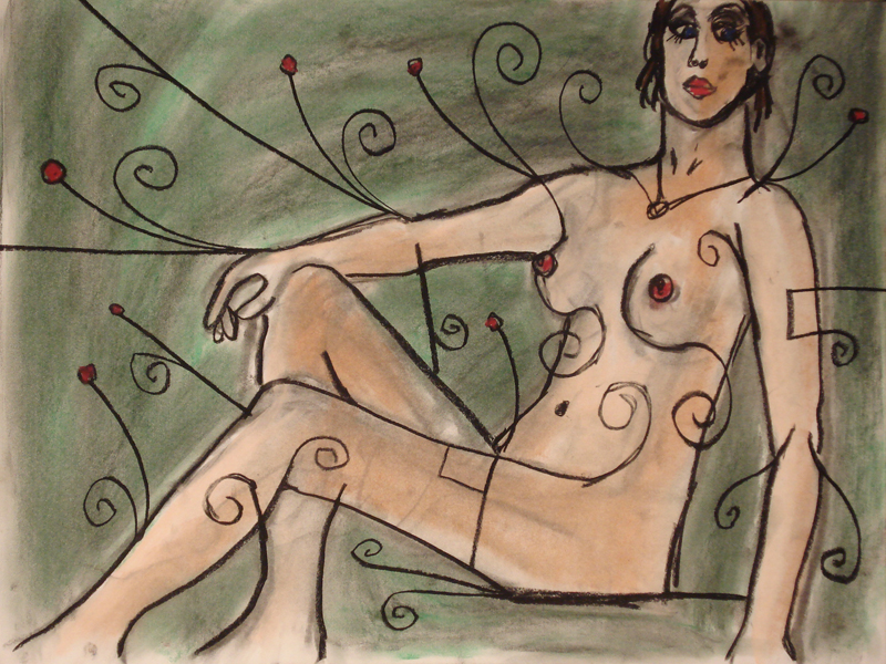 untitled drawing of cara 003