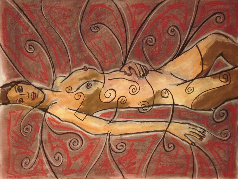 untitled drawing of cara 004