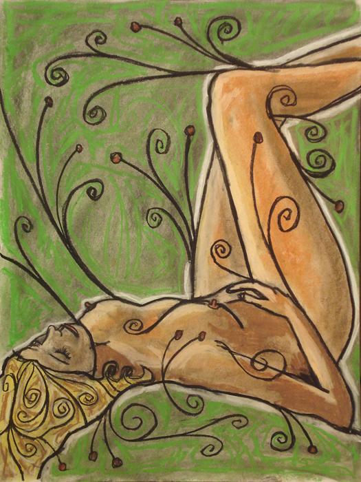 untitled drawing of amanda 002