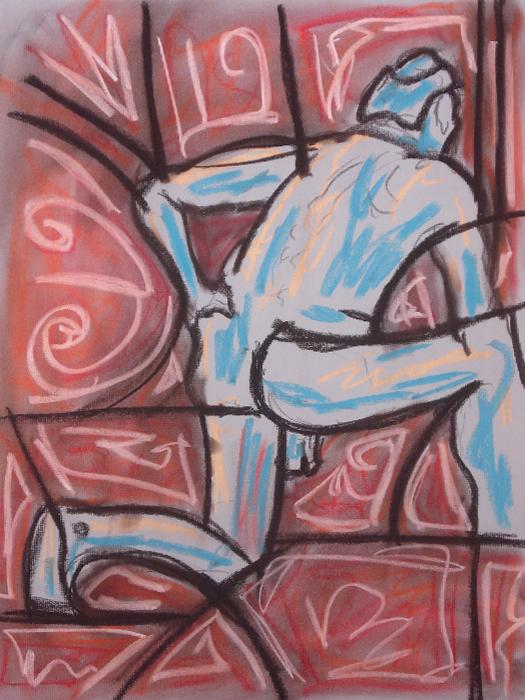 untitled drawing of jeffery 001