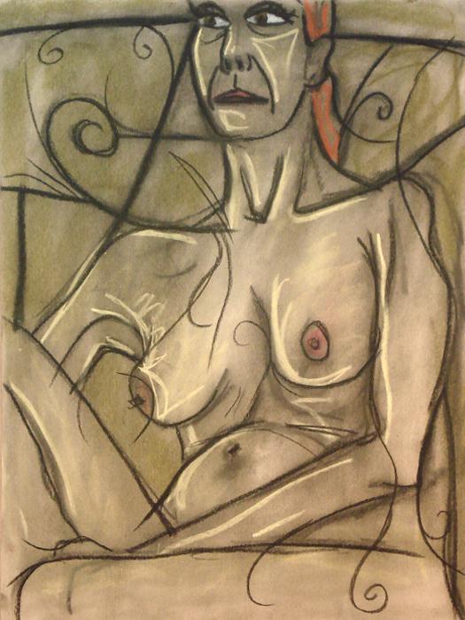 untitled drawing of dana 003