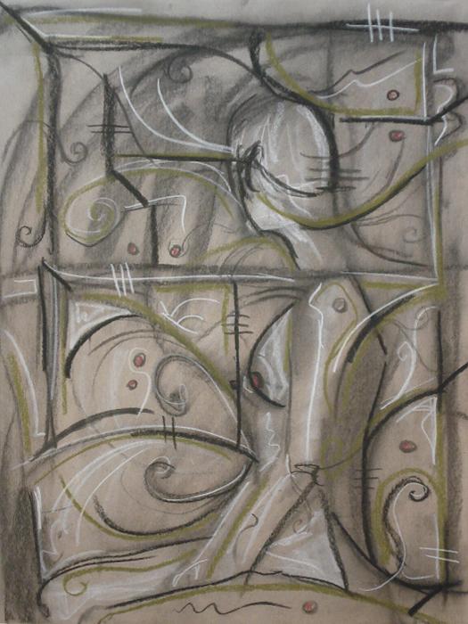 untitled drawing of jill 003