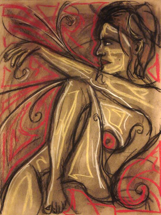 untitled drawing of avye 002