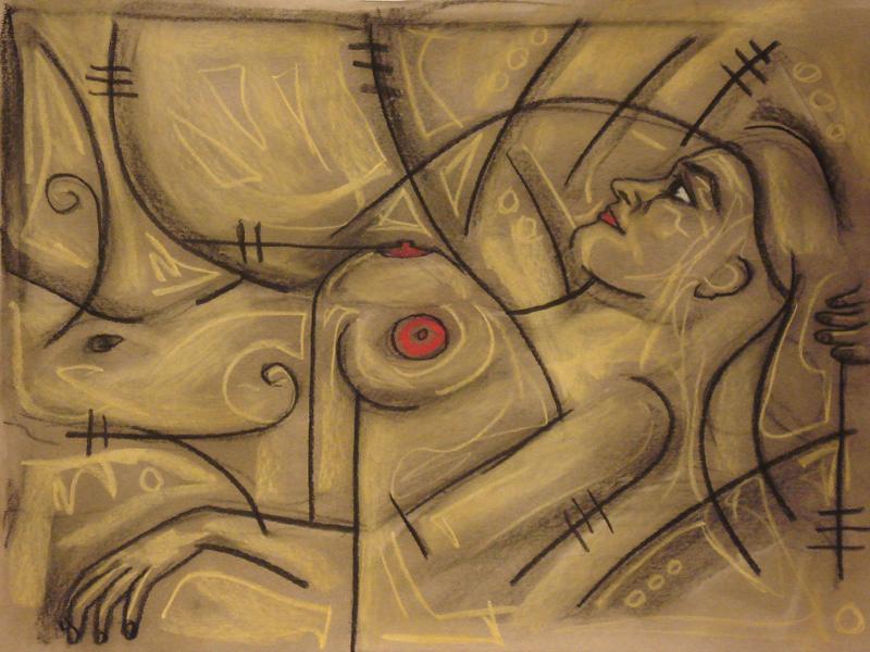 untitled drawing of avye 004