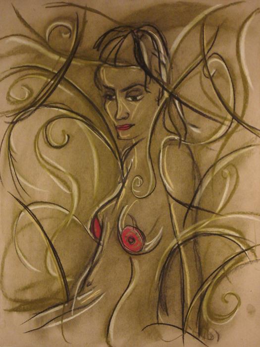 untitled drawing of avye 005