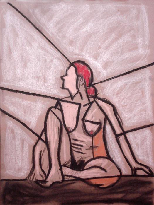 untitled drawing of trish 004