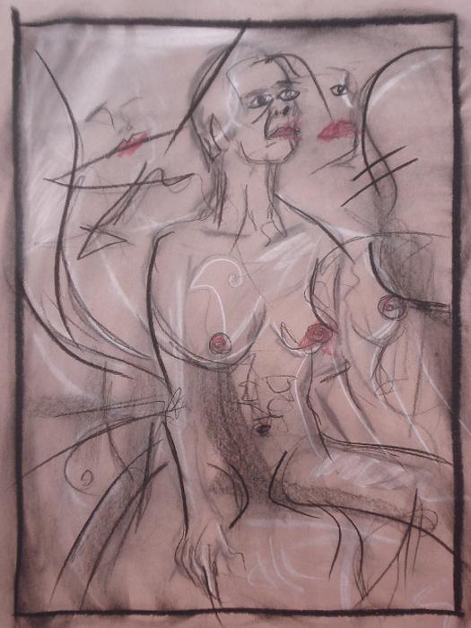 untitled drawing of trish 006