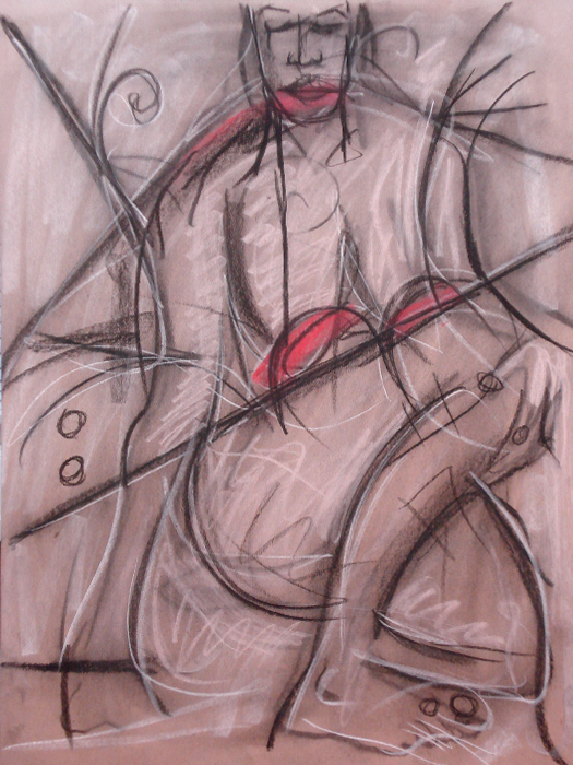 untitled drawing of faith 001