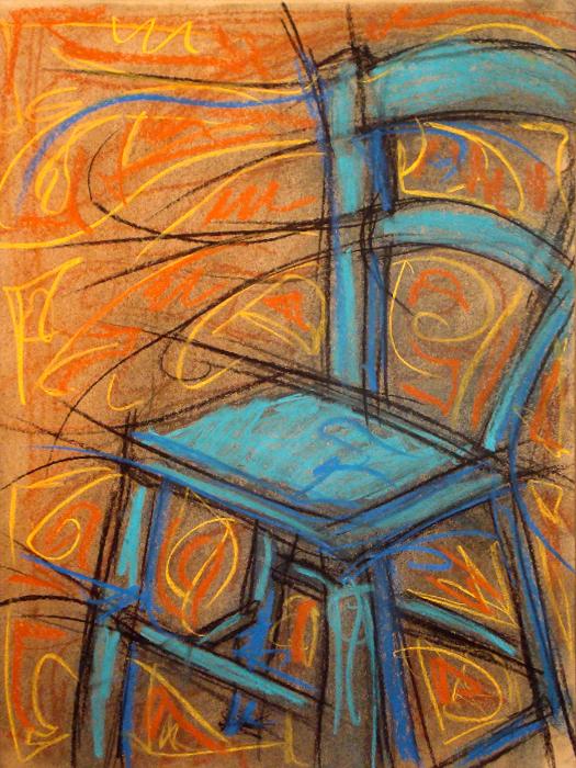 blue chair 001