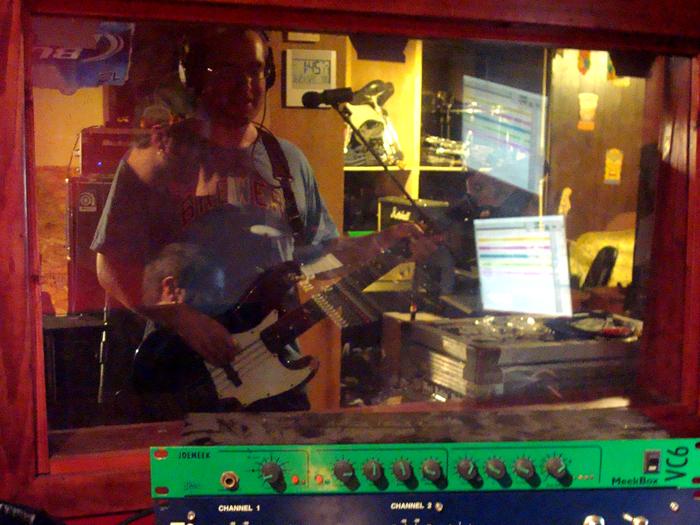 stevo in the studio