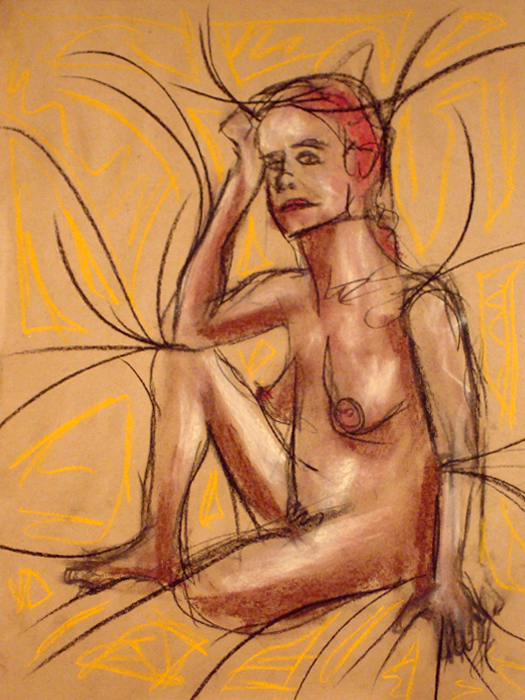untitled drawing of trish 015