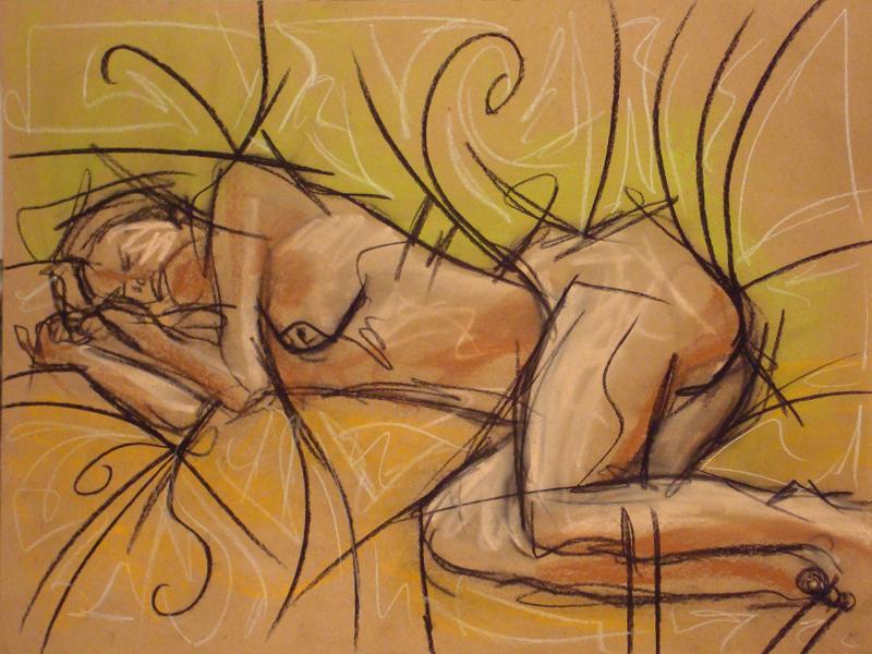 untitled drawing of trish 016
