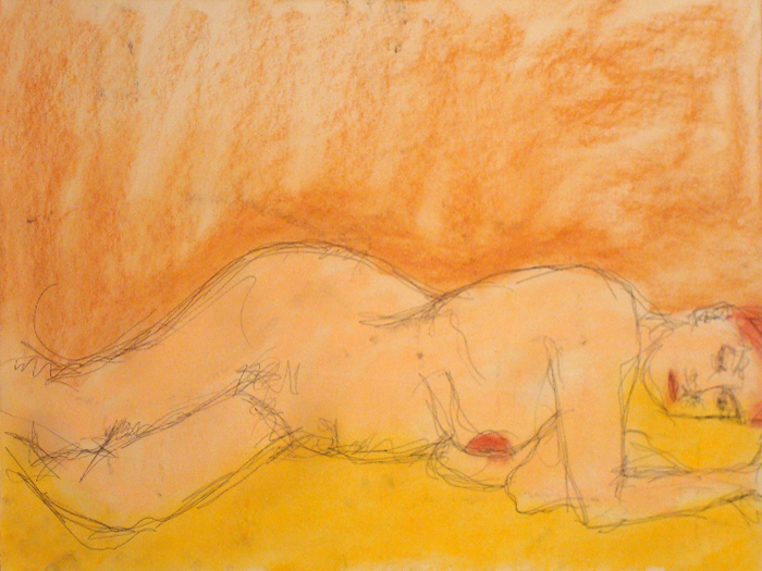 untitled drawing of shelly 024