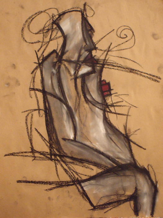 untitled drawing of dana 006