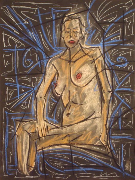 untitled drawing of dana 008