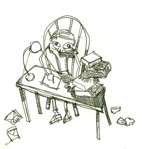 scramble scramble scribble