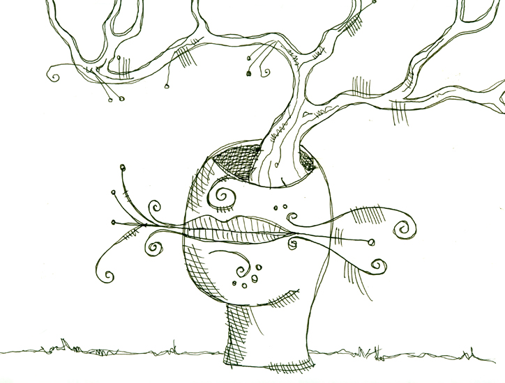 kissy tree
