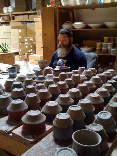 john overlooks the beauty of the vesper cups