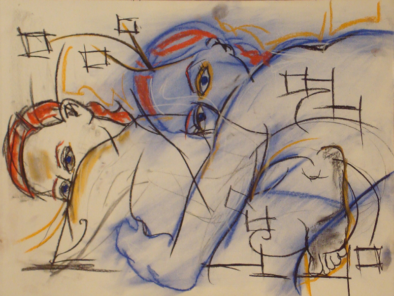 untitled drawing of shelly 028