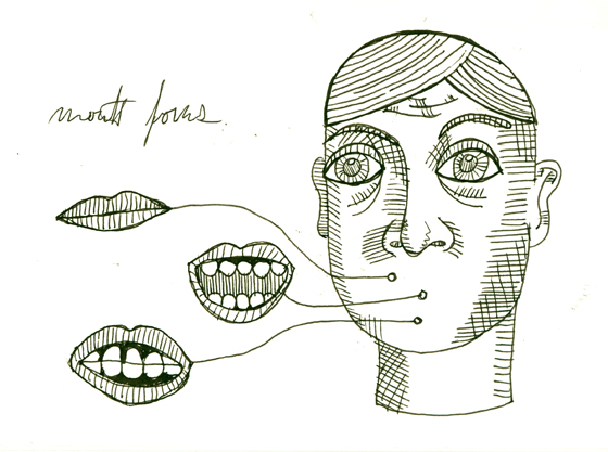 mouth forms