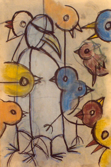 bird feeder part III