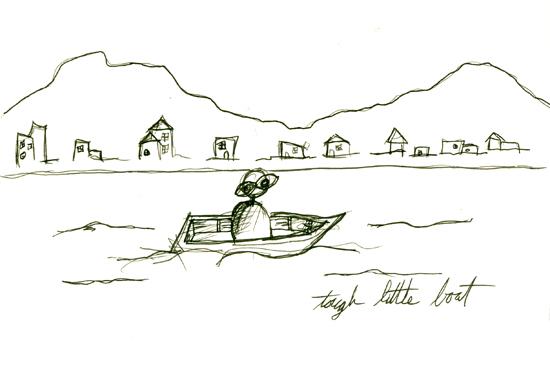 tought little boat