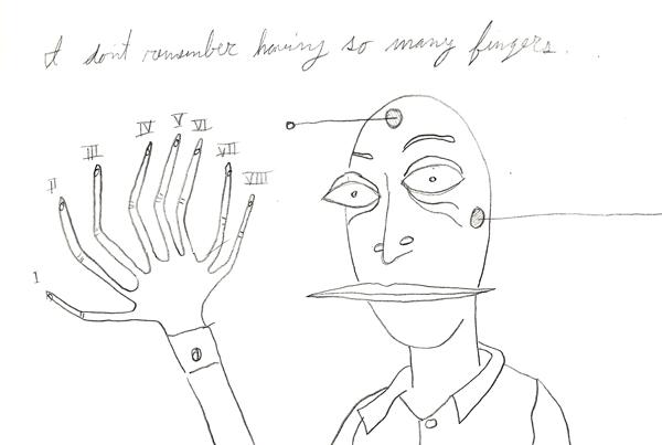 i don't remember having so many fingers