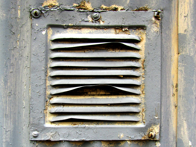 the vent is a little clogged