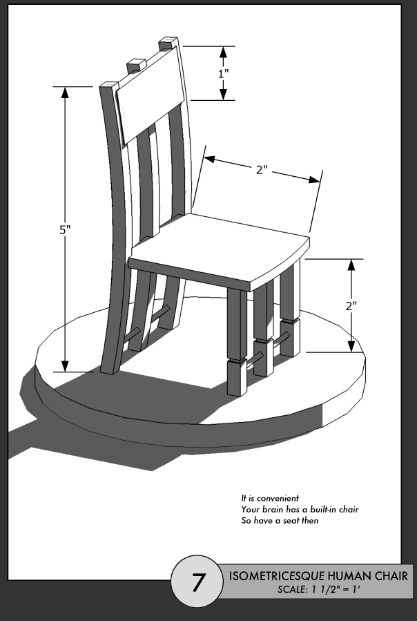 isometrical chair