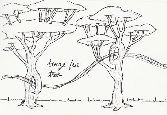 breeze free trees