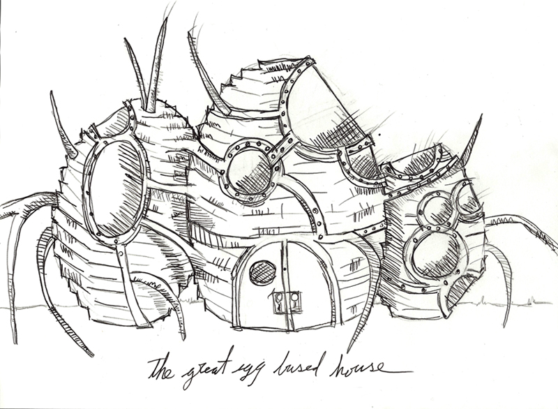 the great egg based house