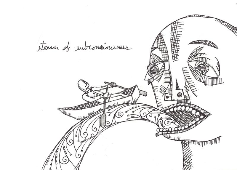 stream of subconciousness