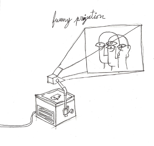 funny projection