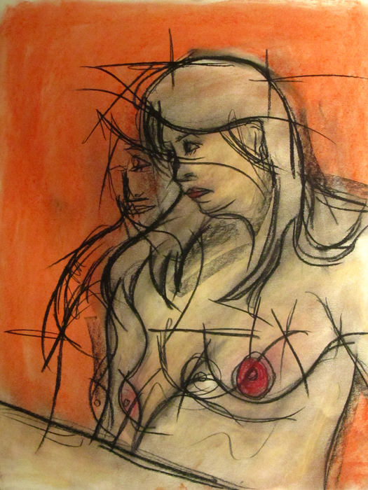 untitled drawing of kristin 004