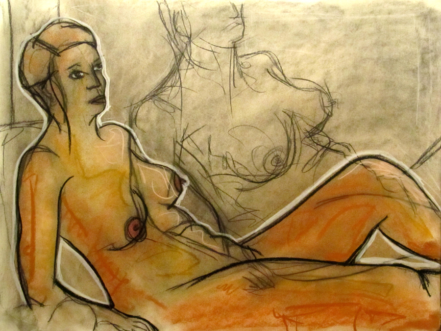 untitled drawing of kristin 006
