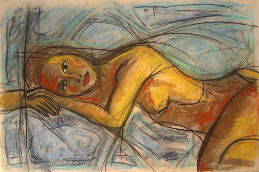 untitled drawing of rachel 013