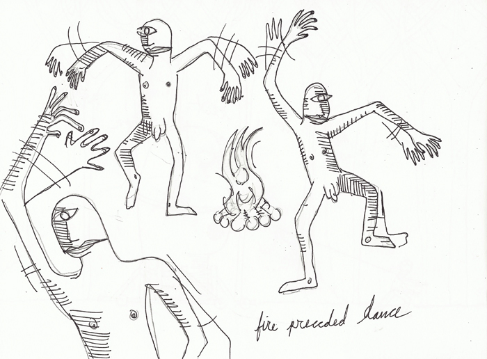 fire preceded dance
