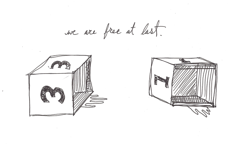 we are free at last