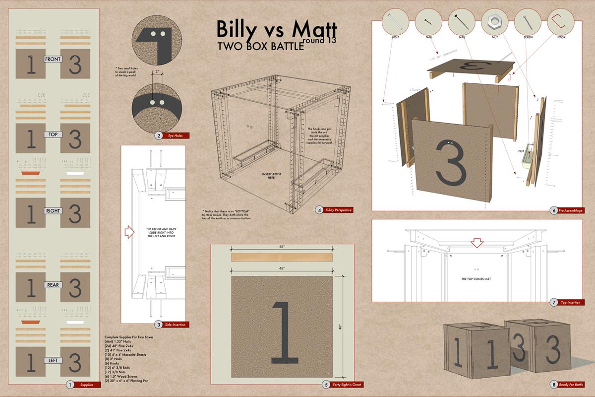 Billy vs Matt 13 Plans
