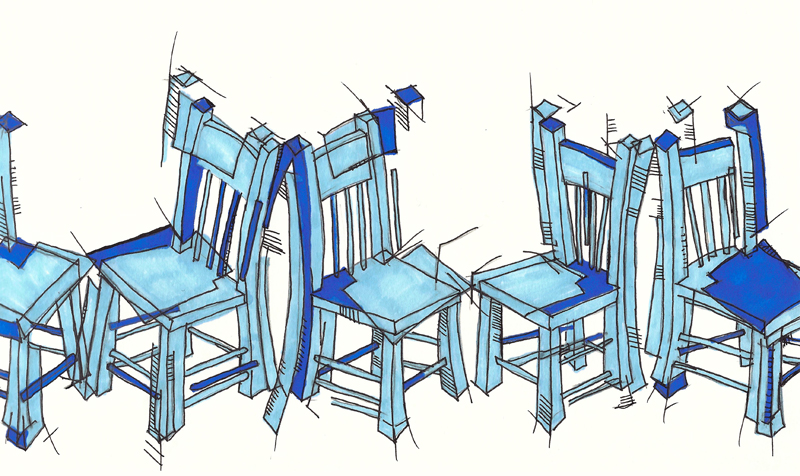 chairs the musical