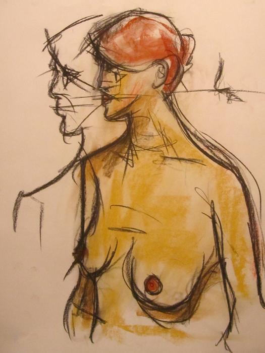 untitled drawing of kiki 001