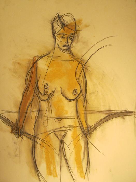 untitled drawing of kiki 005
