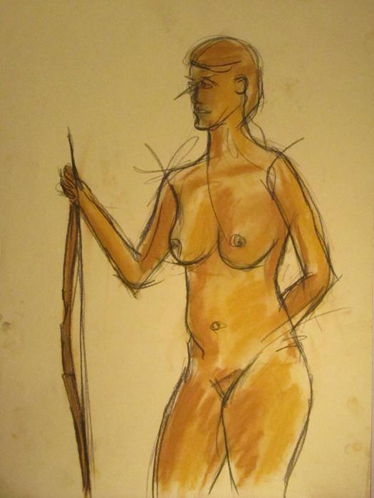untitled drawing of kiki 007