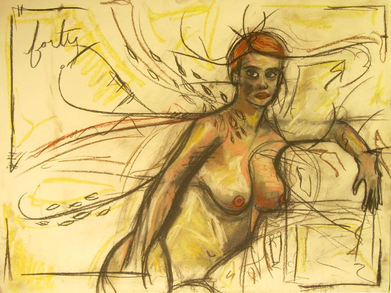 untitled drawing of kiki 011
