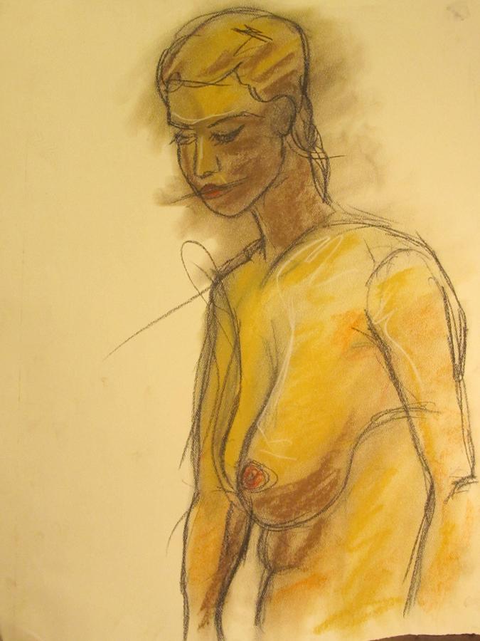 untitled drawing of kiki 013
