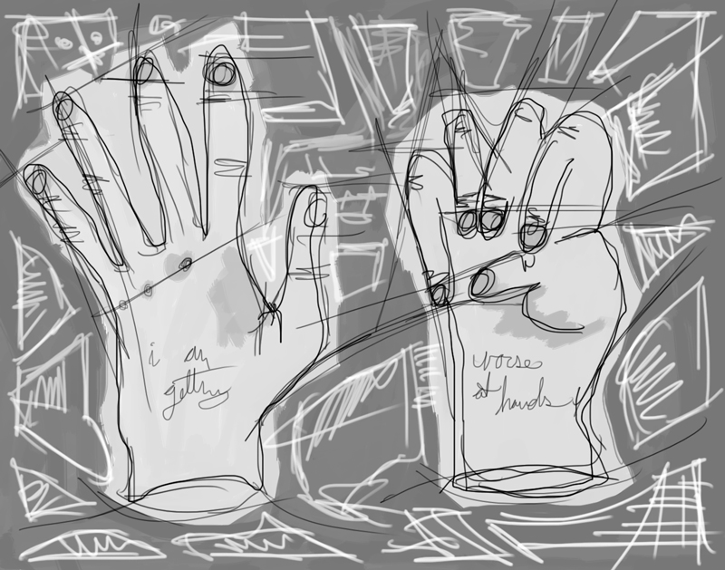 i am getting worse at hands